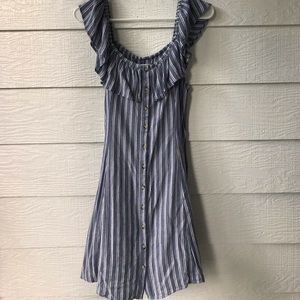 American Eagle Outfitters stripped dress